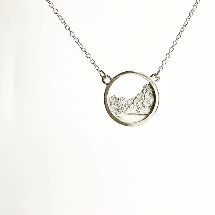 photograph of snowdonia necklace